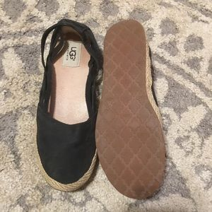 Navy Ugg flats size 6.5